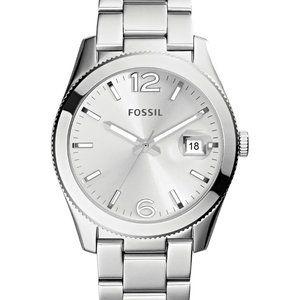 Fossil Boyfriend Watch Silver Tone